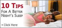 10 tips for Sleep